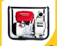 Motobomba Honda, Wl20xh, Tipo Gx160, Producto De Fuerza