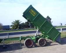 Acoplado Volcador Trivuelco - Balancín de 4 a 5 Ton. / Nuevo