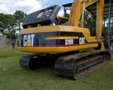Excavadora Caterpillar 320 Bl6cr 808