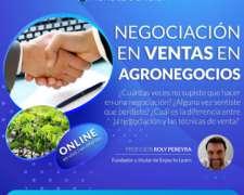Negociación en Ventas en Agronegocios 50% OFF