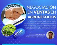 Negociación en Ventas en Agronegocios