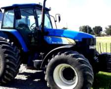 Tractor New Holland TM 7040 año 2009 180 HP CV