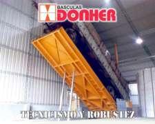 Plataforma Volcadora Hidráulica - 10mts - Donher