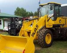 Pala Taurus Mod Ctx 926, 85 Hp, Balde 1m3 Financiacion