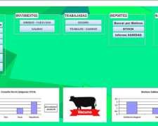 Sistema Gestión Ganadera, Entrada Y Salida + Stock Caravanas