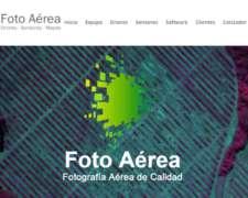 Foto Aérea - Drones, Sensores, Mapas