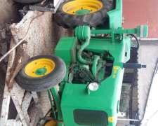Único Tractor Y Desmalezadora
