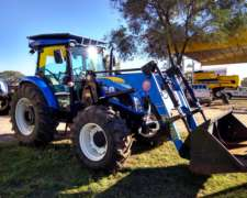Tractor New Holland TD5.90 con Pala