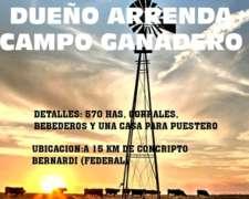 Arrenda Campo Ganadero (c.bernardi)