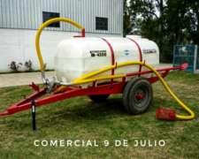 Acoplado Tanque Estiercolero con Bomba Lobular Secman M-4300