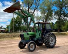 Deutz AX 100 con Pala Frontal Tedeschi y Doble Embrague