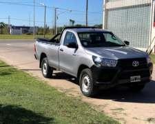 Toyota Hilux Única Mano.