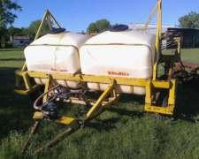 Fumigador Pulverizador Arrastre Barbuy FH 2000 LS 14 M Labor