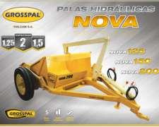 Palas Hidráulicas Nova 125 150 200