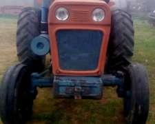 Tractor Fiat 700 y Embolsadora