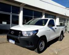 Hilux C/simple 2.4 Tdi Dx 4x4 Año 2017, Impecable
