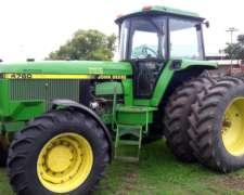 Tractor John Deere 4760
