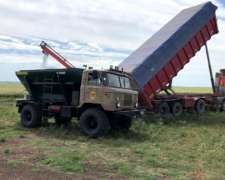 Fertilizador 4X4 Camion Ruso GAZ