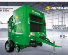 Rotoenfardadora M 8560 Montecor