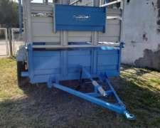 Acoplado Jaula TCF 4 X 2 C/rampa y Gomas, SEMINUEVO$256000
