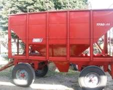 Acoplado Semilla Y Fertilizante De 10 Tons- Ombu