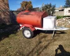 Tanque Cisterna de Combustible 1500lt