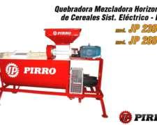 Quebradora Mezcladora de Cereales Pirro JP 2300e/2600e