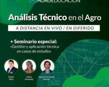 Análisis Técnico en el Agro 50% OFF