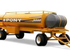 Acoplado Tanque para Combustible Marca Pony