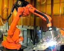 Robot ABB Arcwelding 1600 Estacion 5000i Esab