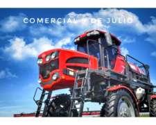 Pulverizadora Ombú PAO 3000 Autopropulsada - 9 de Julio