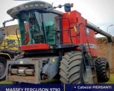 Massey Ferguson con Cabezal Piersanti y Mapeo