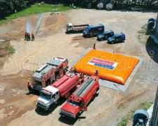 Tanque Bolsa Anti Incendio Válvula Bomberos