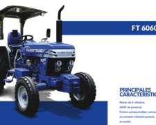 Tractor Farmtrac 60 HP 12 Cheques en Pesos