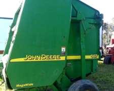 Rotoenfadadora John Deere 567 , Recolector Megawide 2007