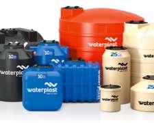 Tanques de Plástico Waterplast - 400 a 10.000 Lts. / Nuevos