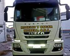 Chasis Tractor Iveco Cursor 330 2013 Impecable
