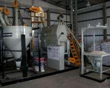 Plantas de Alimentos Modelo P F C N 8.000 Kg/hs - Profarmer