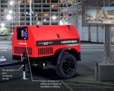 Grupo Electrogeno Diesel 20kva Con Trailer - Himoinsa Yanmar