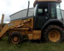 Pala Retro John Deere 310 G 4X4 Brazo Extensible