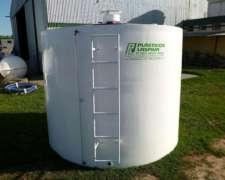 Cisternas 5.000 Litros en P.r.f.v. Plasticos Laspiur SRL