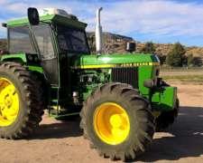 Tractor John Deere 3550dt - Año 1996