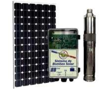 Bomba Sumergible Solar 31.600 Lts./diarios Hasta 20 Mts