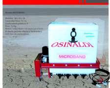 Aplicador de Plaguicidas Granulados Osinal Modelo Microband