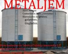Directo De Fabrica.silos Aereos En Stock.todas Las Medidas,
