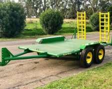 Super Bong Trailer Carreton 4 TT 4mts X 2mts