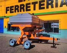Fertilizadora EDR 3000 C/balancin Pozzi
