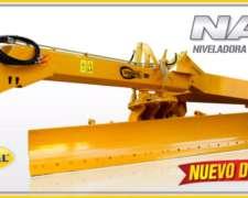 Niveladora de Arrastre Grosspal NA 12