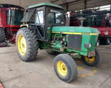 Tractor J Deere Tracion Simple