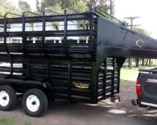Trailers Para Caballos De 4 X 2 X 2 La Guapa